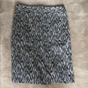 THE LIMITED STRIPED PENCIL SKIRT.